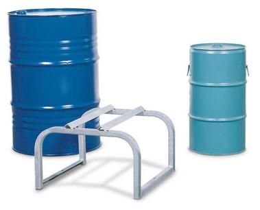 Fassbock für 1 Fass à 50 / 60 oder 200 Liter, verzinkt