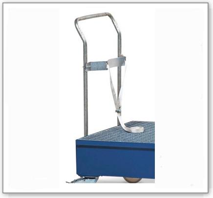 Zurrgurt/Befestigungsbügel für ein 200 Liter Fass