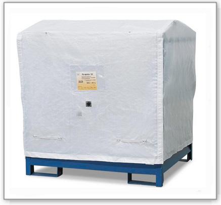 Abdeckhaube für Gefahrstoffstation 4 P2-O /-R