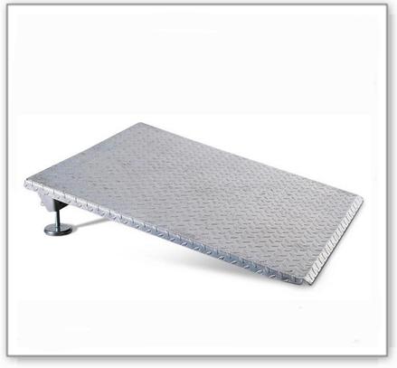 Auffahrrampe aus Stahl, höhenverstellbar 150 - 270 mm