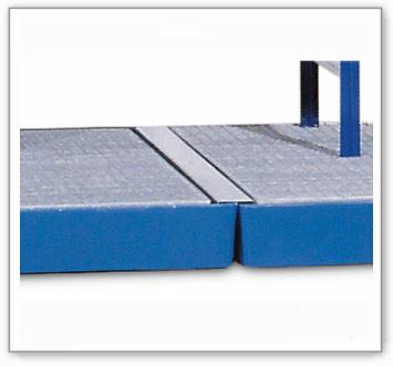 Verbindungselement aus Stahl, verzinkt, für Bodenelement BK 8