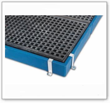 Randbefestigung für Bodenelemente BK aus Polyethylen (PE)