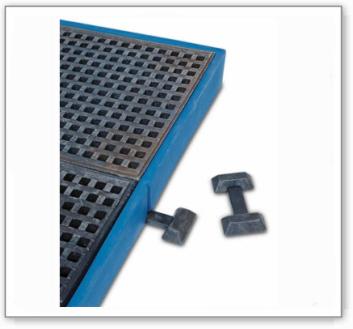 Distanzverbinder für Bodenelemente BK aus Polyethylen (PE)