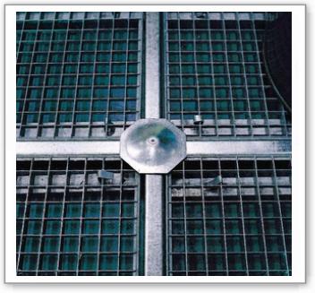 Kreuzverbinder für Stahl-Bodenelemente BZ