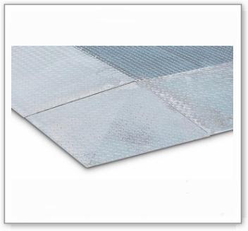 Auffahrecke für Stahl-Bodenelemente BZ, Höhe: 123 mm