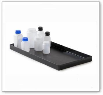 Kunststoff-Polyethylen(PE) Einlegewanne für Auffangwanne Chemikalienschrank Space 184, Typ A
