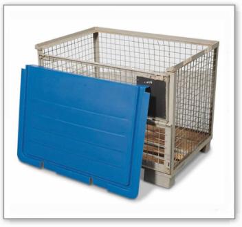 Gitterbox-Abdeckung aus Polyethylen (PE)