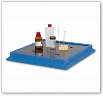 Schutz-/Laborwanne aus Polyethylen (PE)