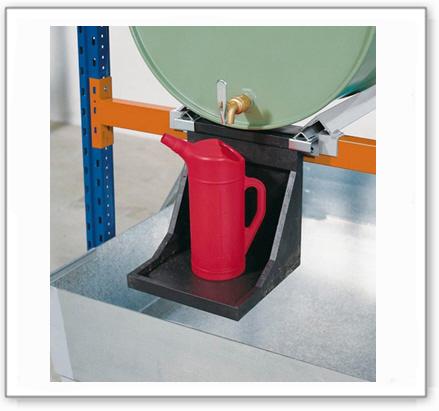 Kannenträger aus Polyethylen (PE) für Abfüllstationen
