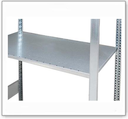 Gitterrost, verzinkt, als zusätzliche Lagerebene für Gefahrstoffregal GRG 1060 / PRG 1060/2060