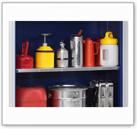 Einlegeboden für Chemikalienschrank Easy, incl.Befestigungsmaterial