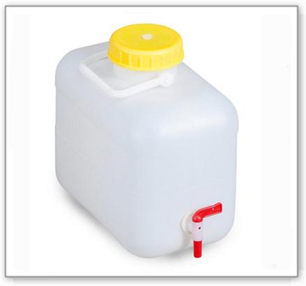Kunststoff-Kanister 10 l, incl.Zapfhahn