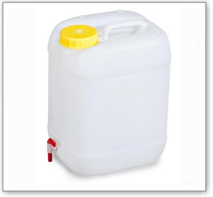 Kunststoff-Kanister 20 l, incl.Zapfhahn