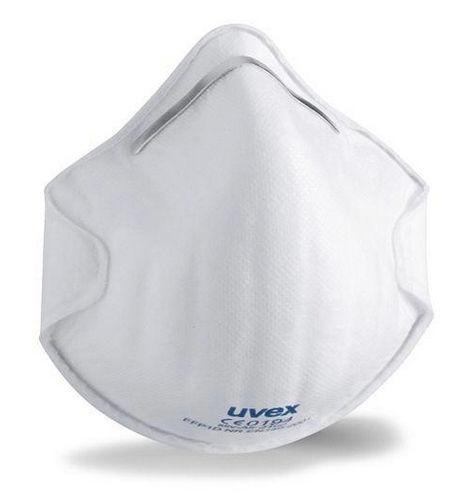 Atemschutzmaske uvex silv-Air c 2100, Schutzstufe FFP 1, o. Ventil, VE = 20 Stück