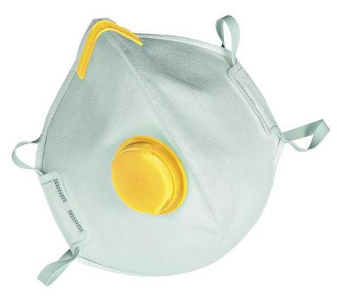 MSA Atemschutzmaske Affinity 2121, FFP2 NR D, faltbar, mit Ausatemventil, VE = 15 Stück